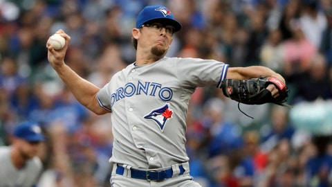 <p>               FILE - In this Aug. 2, 2018, file photo, Toronto Blue Jays pitcher Tyler Clippard throws to a Seattle Mariners batter during the first inning of a baseball game, in Seattle. The Indians and two-time All-Star reliever Tyler Clippard have agreed to terms on a minor-league contract. Clippard, who spent last season with Toronto, will try to earn a spot in Cleveland's revamped bullpen. The deal is pending the 34-year-old passing medical tests and may not be completed for several more days. (AP Photo/Ted S. Warren, File)             </p>