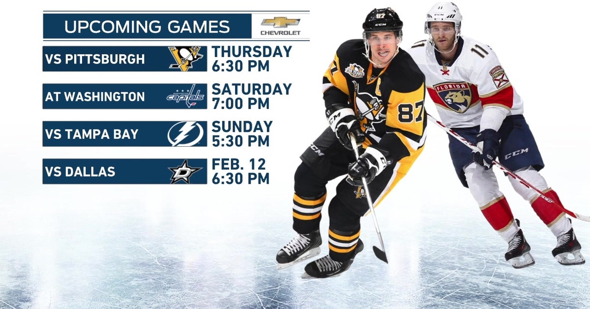 Panthers To See Familiar Faces When Penguins Come To Town Fox Sports