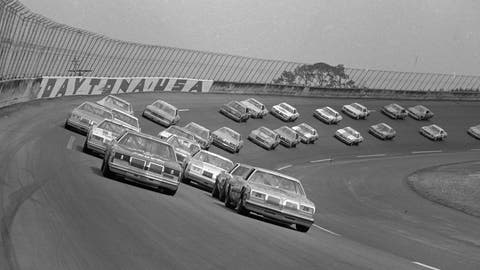 <p>               FILE - In this Feb. 18, 1979, file photo, 41 cars roll around the wet Daytona International Speedway track under a caution flag as the Daytona 500 auto race gets under way in Daytona Beach, Fla. The 1979 race was instrumental in broadening NASCAR's southern roots. Forty years later, it still resonates as one of the most important days in NASCAR history. (AP Photo, File)             </p>