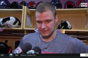 Aleksander Barkov on Mike Matheson's game winner, containing Sidney Crosby
