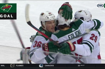 WATCH: Wild score four goals in matinee win over Devils
