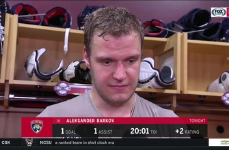 Aleksander Barkov on win: 'Everybody just dialed in'