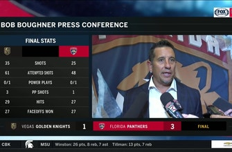 Bob Boughner: 'I like the way we competed and our composure'