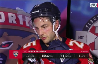 Derick Brassard beating Golden Knights: 'Everyone was on the same page'