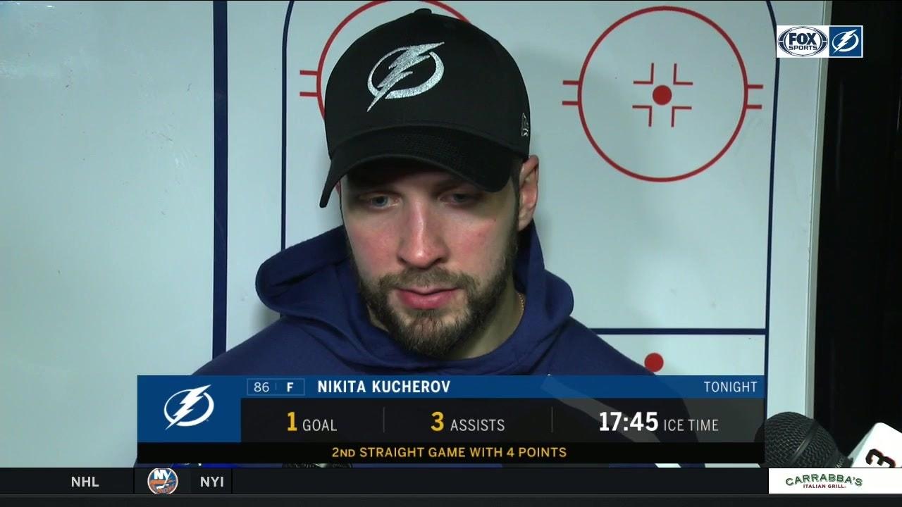 Nikita Kucherov   Good things happen when we play the right way ... 47673b5abe4