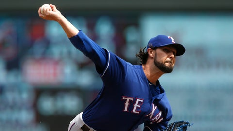 <p>               FILE - In this June 23, 2018, file photo, Texas Rangers' pitcher Tony Barnette throws against the Minnesota Twins during a baseball game in Minneapolis. The Chicago Cubs have added bullpen help, agreeing to a $750,000, one-year contract with Barnette, a deal containing an option, escalator and bonus opportunities that could raise its value to $4.5 million over two seasons. (AP Photo/Jim Mone, File)             </p>