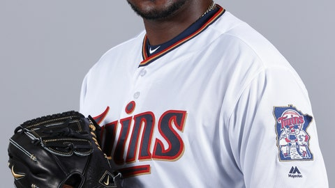 <p>               FILE - This 2018 file photo shows Michael Pineda of the Minnesota Twins baseball team. The Twins signed Pineda more than a year before he'll be cleared to pitch, aiming for what could be a bargain for the rotation this season if the big right-hander bounces back from elbow surgery.(AP Photo/John Minchillo, File)             </p>
