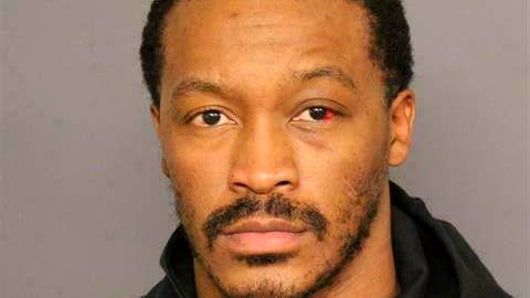 <p>               This photo provided by the Denver Police shows Demaryius Thomas. Veteran NFL wide receiver Demaryius Thomas has been arrested after being involved in a rollover crash earlier this month.  According to Denver jail records, Thomas was arrested Wednesday, Feb. 27, 2019, on allegations of vehicular assault, reckless driving and not having insurance. (Denver Police via AP)             </p>