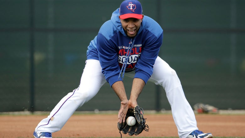 Rangers SS Andrus in much different spot with Beltre retired
