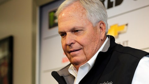 <p>               FILE - In this Friday, Feb. 16, 2018 file photo, NASCAR auto racing team owner Rick Hendrick speaks during a news conference at Daytona International Speedway in Daytona Beach, Fla. Rick Hendrick's drivers won only three races last year and the team owner said his organization is far too good to perform so poorly. He vowed 2019 will be better for Jimmie Johnson, Chase Elliott, Alex Bowman and William Byron. The team has adapted to an internal reorganization, the new Chevy Camaro and its overhauled driver roster. Hendrick said he's too competitive to tolerate another subpar season. (AP Photo/Terry Renna, File)             </p>