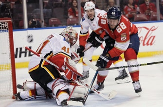Trocheck's shootout goal lifts Panthers over Flames 3-2