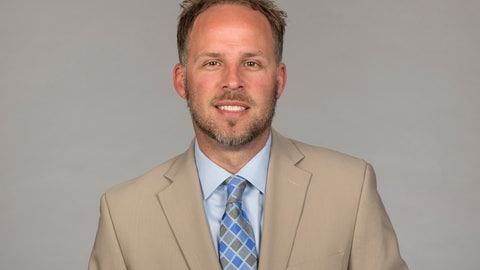 <p>               FILE - In this June 2016 file photo, Ben McDaniels, then of the Chicago Bears NFL football team, poses for a photo. Michigan has promoted McDaniels to quarterbacks coach. McDaniels was promoted by Jim Harbaugh from offensive analyst to wide receivers coach for the Peach Bowl. McDaniels' brother, Josh, is New England's offensive coordinator. (AP Photo, File)             </p>