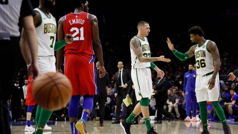 Hayward leads Celtics to 3rd straight win over 76ers