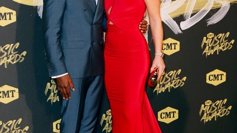 """<p>               FILE - In this Wednesday, June 6, 2018 file photo, P.K. Subban, left, and Lindsey Vonn arrive at the CMT Music Awards at the Bridgestone Arena, in Nashville, Tenn. Of all the people flying in to attend Lindsey Vonn's final race _ her dad and other family members, U.S. Ski Team top brass and maybe even legendary Swedish skier Ingemar Stenmark _ one very significant other will be missing. P.K. Subban, Vonn's boyfriend and a defenseman for the NHL's Nashville Predators, has a game to play in Tennessee on Sunday hours after Vonn bids skiing goodbye in the downhill at the world championships in Sweden. """"I would've liked to be there for that and celebrate with her,"""" Subban told The Associated Press. """"I've got to do the best I can to support her from afar."""" (AP Photo/Al Wagner, File)             </p>"""