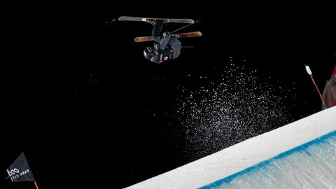 <p>               Fabian Boesch, of Switzerland, soars over the jump in the men's big air at the freestyle ski and snowboard world championships Saturday, Feb. 2, 2019, Park City, Utah. (AP Photo/Tyler Tate)             </p>