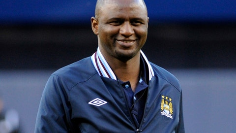 <p>               FILE - In this Friday, May 17, 2013 file photo, Patrick Vieira smiles after throwing out the first pitch before the New York Yankees and Toronto Blue Jays play a baseball game, at Yankee Stadium in New York.  Nice coach Patrick Vieira took the rare step of publicly criticizing his player Allan Saint-Maximin after the winger declared himself unfit to play at Angers, Saturday Feb. 16, 2019. (AP Photo/Bill Kostroun, FILE)             </p>