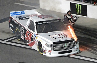 Austin Hill earns Truck Series victory in Daytona opener
