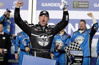 Harvick wins qualifying race for Daytona 500