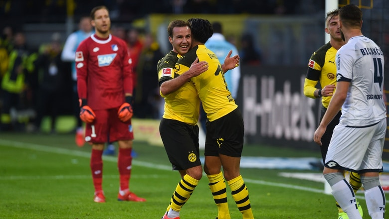 1aa88b8c538 90 in 90  Borussia Dortmund vs. 1899 Hoffenheim