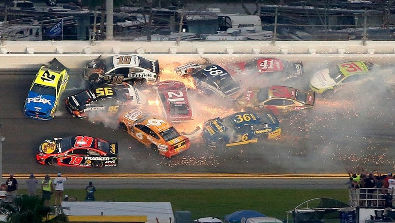 All of the crashes from the 2019 Daytona 500   FOX Sports
