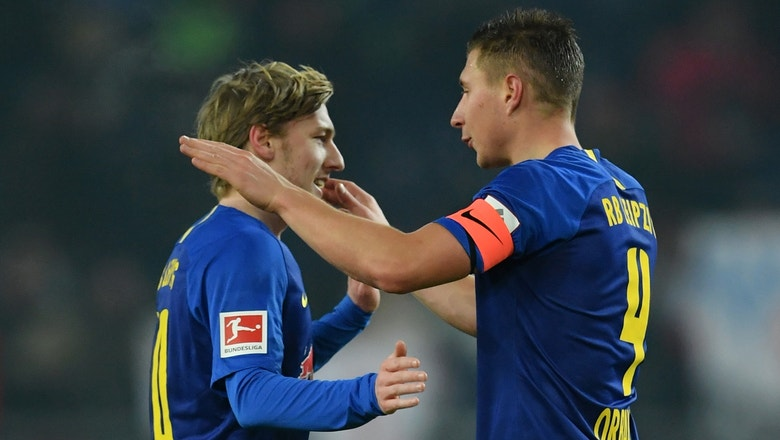 RB Leipzig's Willi Orban scores brace vs. Hannover 96 | 2018-19 Bundesliga Highlights