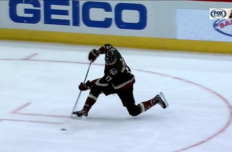 HIGHLIGHTS: Coyotes hold off Stars for needed win