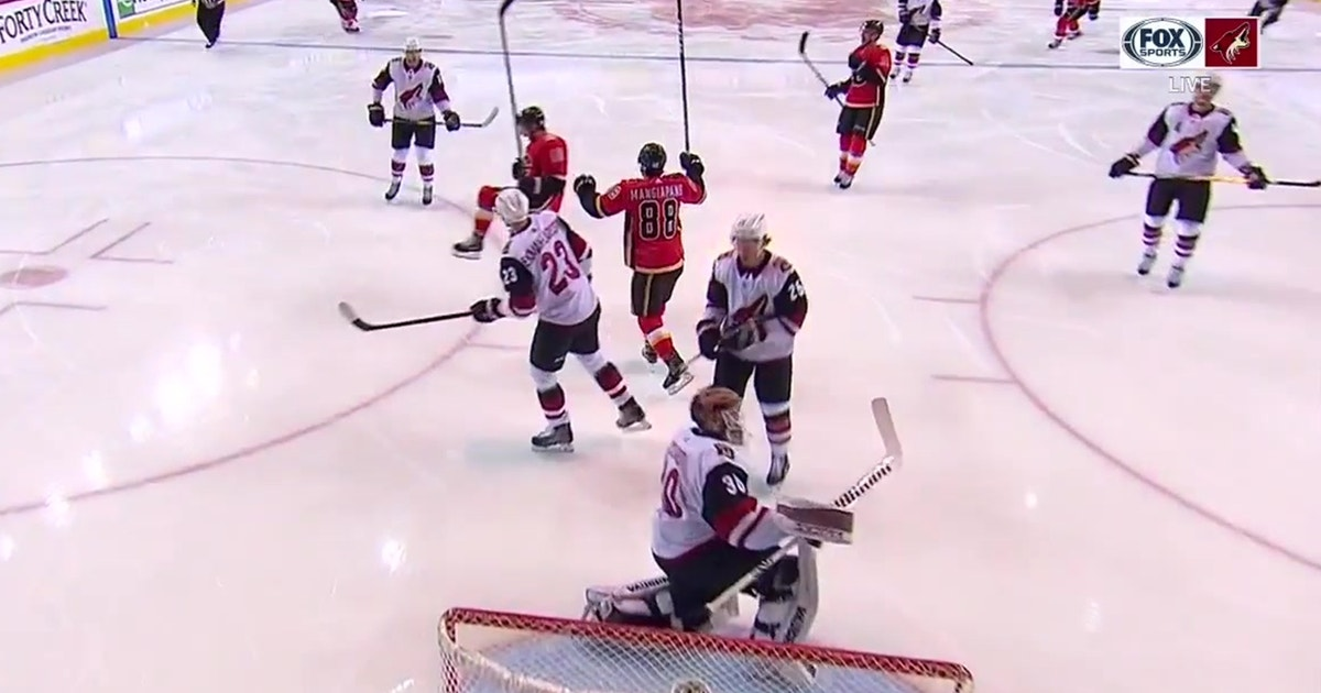 HIGHLIGHTS: Coyotes can't knock off division-leading Flames