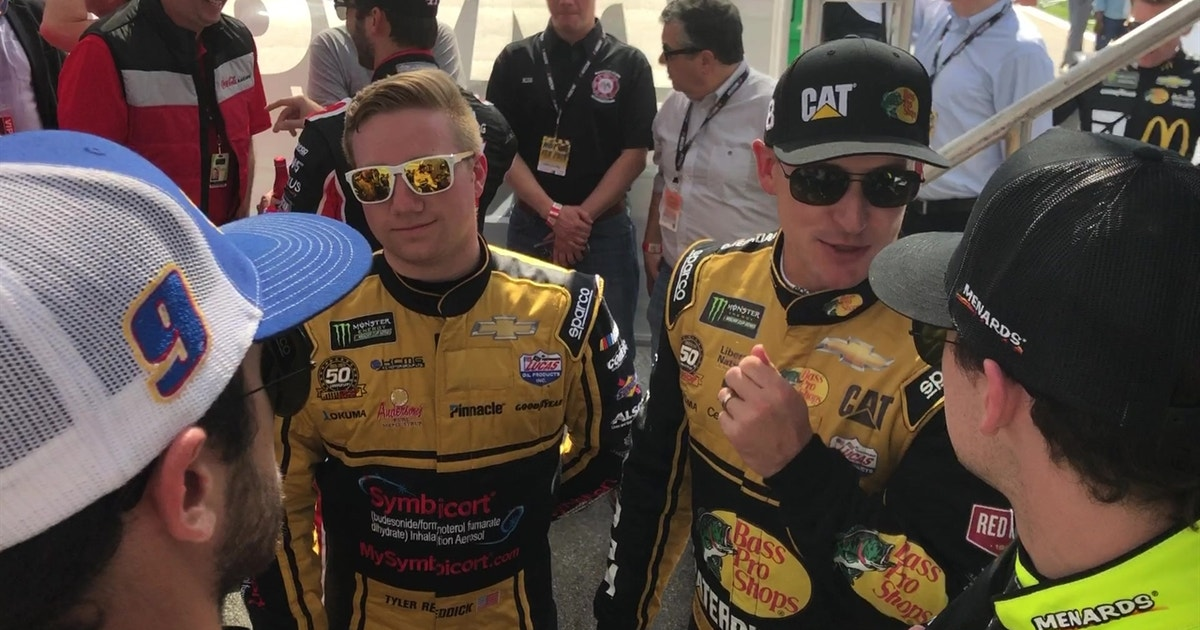 Go backstage at the Daytona 500 with Chase Elliott, Kyle Busch and more | HOT PASS
