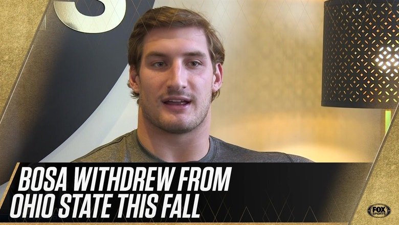 Joey Bosa defends his brother Nick's decision to sit out of the Rose Bowl