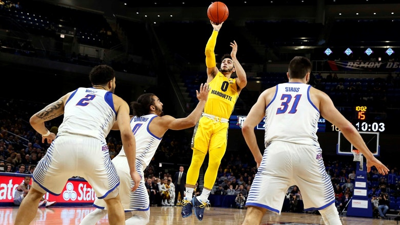 Markus Howard goes for 36 in No. 10 Marquette's drubbing of DePaul