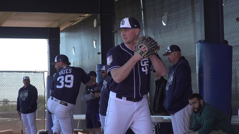 Spring Training 2019: Highlights from Padres workouts in Peoria