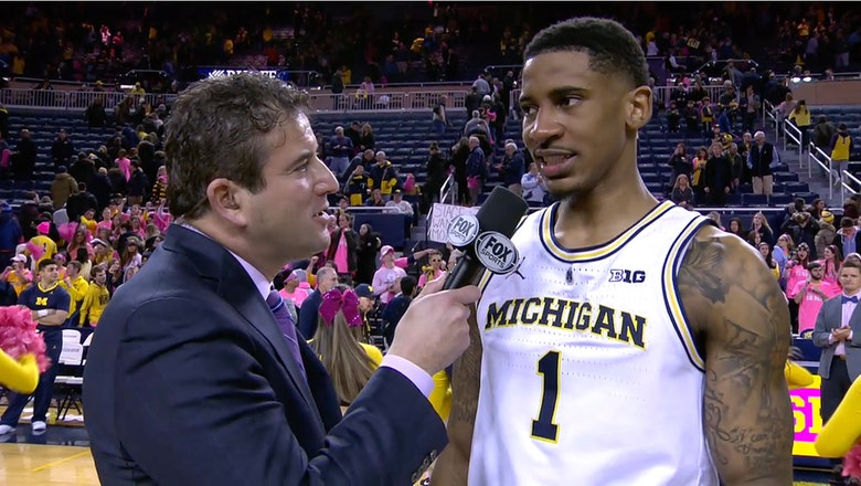 Michigan's Charles Matthews talks about bouncing back with big win over Maryland