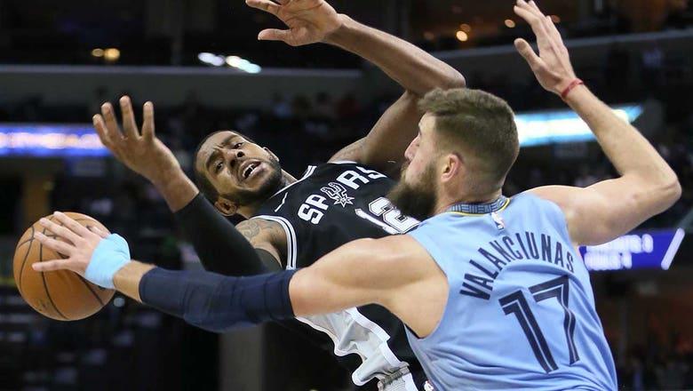 Grizzlies come up short against Spurs