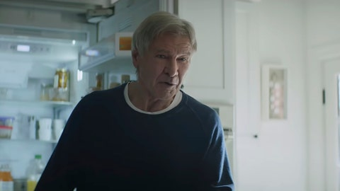 <p>               This undated image made from a video provided by Amazon shows a scene from the company's 2019 Super Bowl NFL football spot featuring Harrison Ford. Amazon pokes fun at itself as celebrities from Harrison Ford to astronaut twins Mark and Scott Kelly test products that didn't quite work out, including an electric toothbrush and a dog collar with Amazon's Alexa digital assistant. (Amazon via AP)             </p>