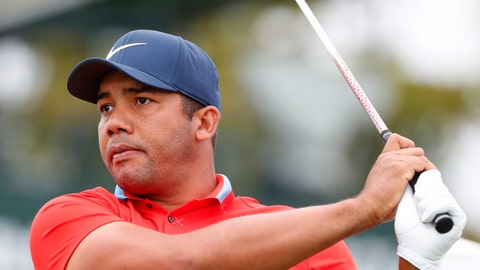 <p>               Jhonattan Vegas, of Venezuela, tees off on the 12th hole during the first round of the Honda Classic golf tournament, Thursday, Feb. 28, 2019, in Palm Beach Gardens, Fla. (AP Photo/Wilfredo Lee)             </p>