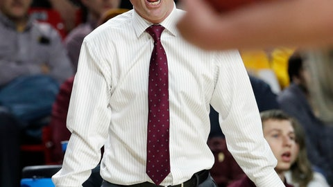 <p>               Arizona State head coach Bobby Hurley reacts after getting a technical foul called against him during the second half of an NCAA college basketball game against Washington State, Thursday, Feb. 7, 2019, in Tempe, Ariz. (AP Photo/Matt York)             </p>