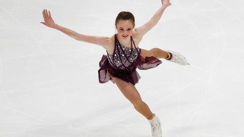 <p>               FILE - In this Jan. 24, 2019, file photo, Mariah Bell performs her women's short program at the U.S. Figure Skating Championships in Detroit. Bell has a slight advantage going into this week's Four Continents Figure Skating Championships. The international meet is basically being held in her backyard. Bell trains in Lakewood, Calif., which is 22 miles (35 kilometers) from the Honda Center. It is the first time since the 2009 World Championship in Los Angeles that Southern California has hosted an International Skating Union event. (AP Photo/Paul Sancya, File)             </p>