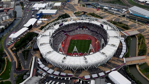 <p>               FILE - This is an Aug. 3, 2012, file photo showing the Olympic Stadium in London. Two people familiar with the discussions tell The Associated Press that Major League Baseball is considering one of two matchups for its 2020 series in London: New York Mets vs. Washington Nationals or Chicago Cubs vs. St. Louis Cardinals. The people spoke on condition of anonymity Friday, Feb. 8, 2019, because no announcements had been authorized. An announcement is expected after opening day this year. MLB's first games in Britain are scheduled for this summer, when the World Series champion Boston Red Sox play the New York Yankees at London's Olympic Stadium, June 29-30.  (AP Photo/Jeff J Mitchell, File)             </p>