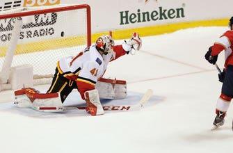 Vincent Trocheck's shootout goal leads Panthers past Flames 3-2