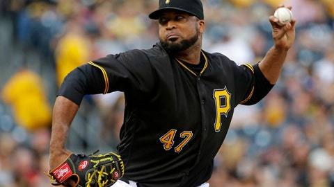 <p>               FILE - In this July 8, 2016, file photo, Pittsburgh Pirates starting pitcher Francisco Liriano delivers during the first inning of a baseball game against the Chicago Cubs, in Pittsburgh. Liriano had a handful of offers during free agency that were basically the same. Teams wanted him to come to spring training on a minor league contract. Realizing he was not getting a major league deal, he returned to the team where he had his best run during his 13-year career. The 35-year-old left-hander agreed to terms with the Pittsburgh Pirates on Feb. 4, one week before spring training.(AP Photo/Gene J. Puskar, File)             </p>