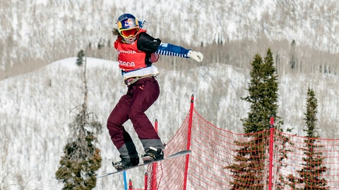 <p>               Eva Samkova, of the Czech Republic, clears a jump in the women's Snowboard Cross final at the Freestyle Ski and Snowboard World Championships, Friday, Feb. 1, 2019, in Solitude, Utah. Samkova won the event. (AP Photo/Tyler Tate)             </p>