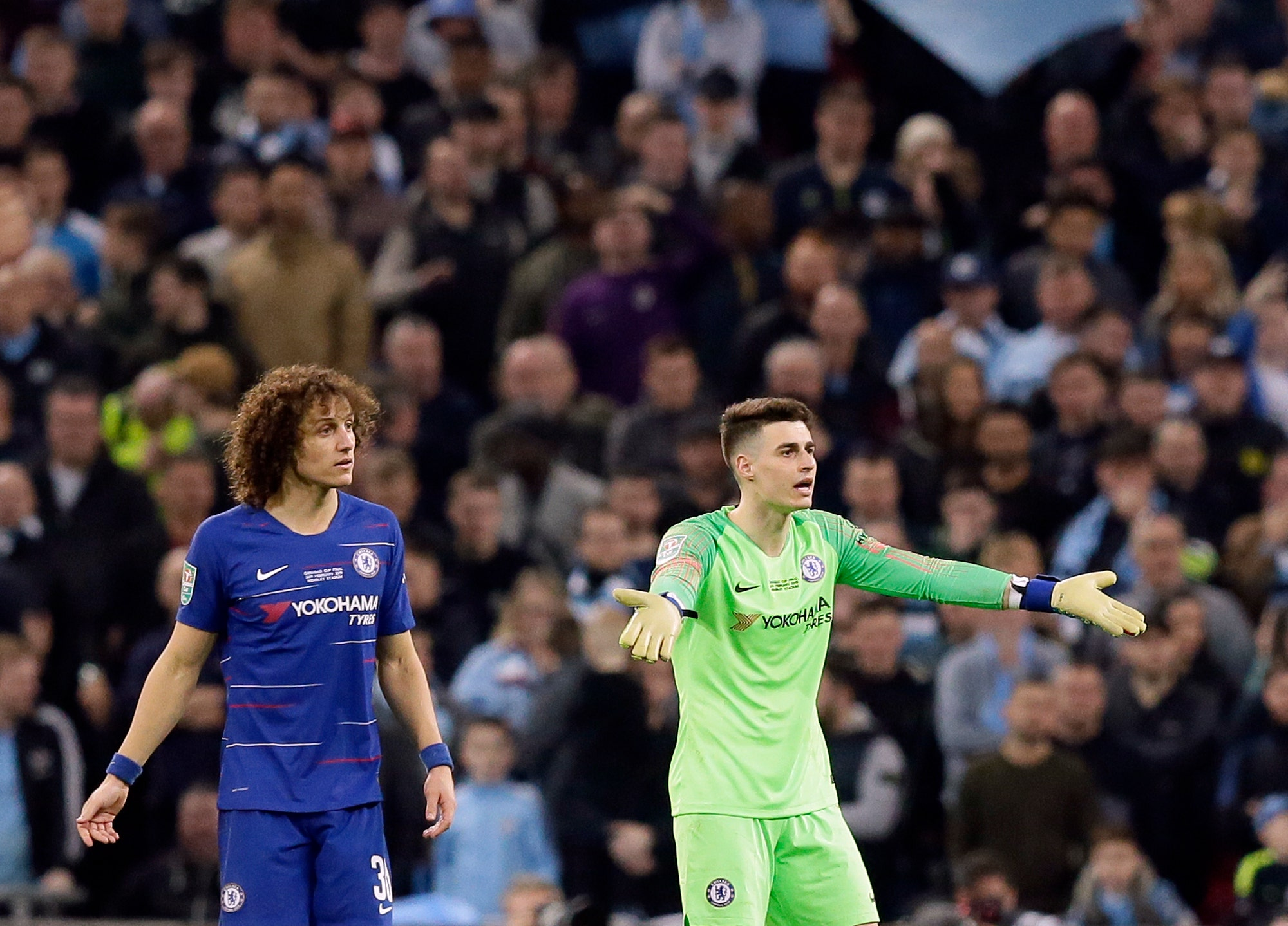 Chelsea goalie apologizes for refusing to leave field   FOX Sports