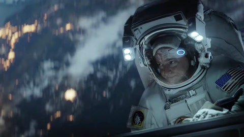 <p>               This undated image made from a video provided by Amazon shows a scene from the company's 2019 Super Bowl NFL football spot featuring Scott Kelly. Amazon pokes fun at itself as celebrities from Harrison Ford to astronaut twins Mark and Scott Kelly test products that didn't quite work out, including an electric toothbrush and a dog collar with Amazon's Alexa digital assistant. (Amazon via AP)             </p>