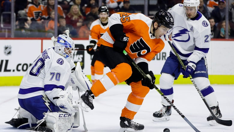 Miller leads Lightning past Flyers for seventh straight win
