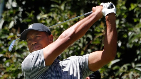 <p>               Tiger Woods hits the ball during a practice prior the WGC-Mexico Championship at the Chapultepec Golf Club in Mexico City, Wednesday, Feb. 20, 2019. (AP Photo/Marco Ugarte)             </p>