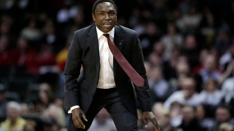 <p>               FILE - In this Feb. 9, 2019, file photo, Alabama head coach Avery Johnson watches the action in the second half of an NCAA college basketball game against Vanderbilt, in Nashville, Tenn. Alabama has beaten one Top 5 team and pushed another down to the wire on the road and also suffered some humbling defeats.  That inconsistency has left the Crimson Tide (15-11, 6-7 Southeastern Conference) in a precarious position in the team's bid to make a second straight NCAA Tournament. (AP Photo/Mark Humphrey, File)             </p>