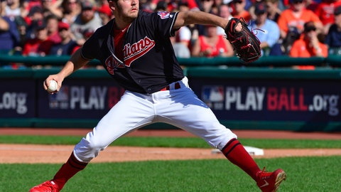 <p>               File-This Oct. 8, 2018, file photo shows Cleveland Indians starting pitcher Trevor Bauer delivering in the sixth inning during Game 3 of a baseball American League Division Series against the Houston Astros, in Cleveland. Bauer won his arbitration hearing for the second straight year and was awarded $13 million instead of the Cleveland Indians' $11 million offer on Wednesday, Feb. 13, 2019, by James Darby, James Oldham and Sylvia Skratek. (AP Photo/Phil Long, File)             </p>