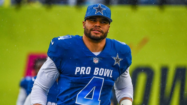 Colin Cowherd to Dak: 'Career longevity and elevation is secured by not being … the highest paid guy'
