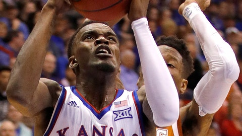 "<p>               FILE - In this Jan. 14, 2019, file photo, Kansas guard Lagerald Vick (24) puts up a shot during the first half of an NCAA college basketball game against Texas, in Lawrence, Kan. Vick is taking a leave of absence from the basketball program, leaving the No. 13 Jayhawks even more short-handed as they face an uphill climb to a 15th straight Big 12 title. Jayhawks coach Bill Self said in a statement Thursday night, Feb. 7, 2019, that Vick has ""some personal matters that require his immediate attention."" (AP Photo/Charlie Riedel, File)             </p>"