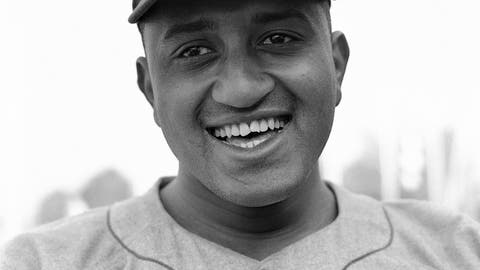<p>               FILE - This is a Feb. 28, 1951, file photo showing Brooklyn Dodgers baseball player Donald Newcombe in Vero Beach, Fla. Newcombe, the hard-throwing Brooklyn Dodgers pitcher who was one of the first black players in the major leagues and who went on to win the rookie of the year, Most Valuable Player and Cy Young awards, has died. He was 92. The team confirmed that Newcombe died Tuesday morning, Feb. 19, 2019, after a lengthy illness. (AP Photo/Harry Harris, File)             </p>